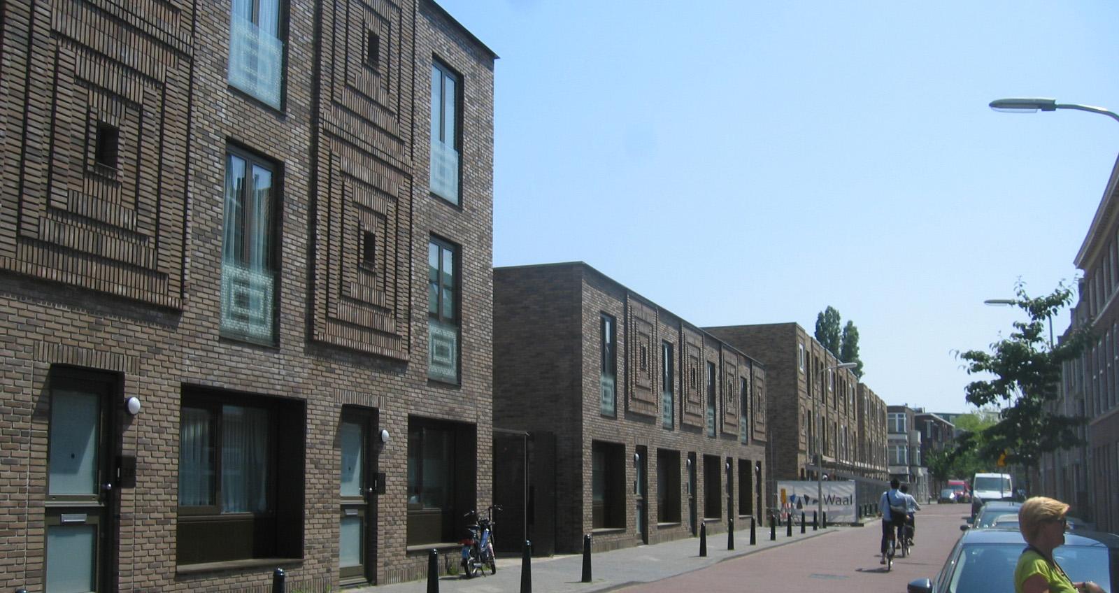 Nieuwbouw 58 woningen aan de maasstraat in den haag for Nieuwbouw den haag