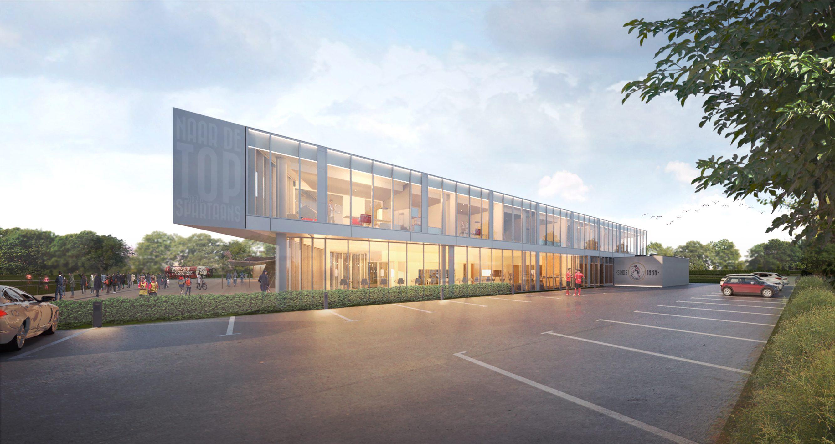 Impressie Sportcomplex Sparta Rotterdam